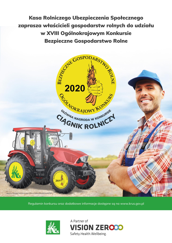 XVIII Edycja Ogólnokrajowego Konkursu Bezpieczne Gospodarstwo Rolne