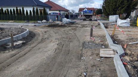 Ulica Lipowa w Łęgajnach