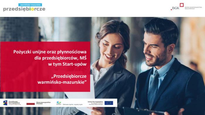 Pożyczki unijne dla przedsiębiorców