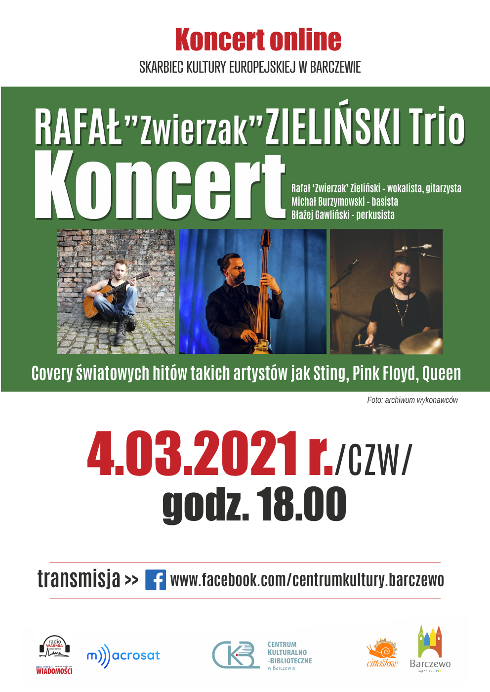 """Rafał """"Zwierzak"""" Zieliński TRIO"""