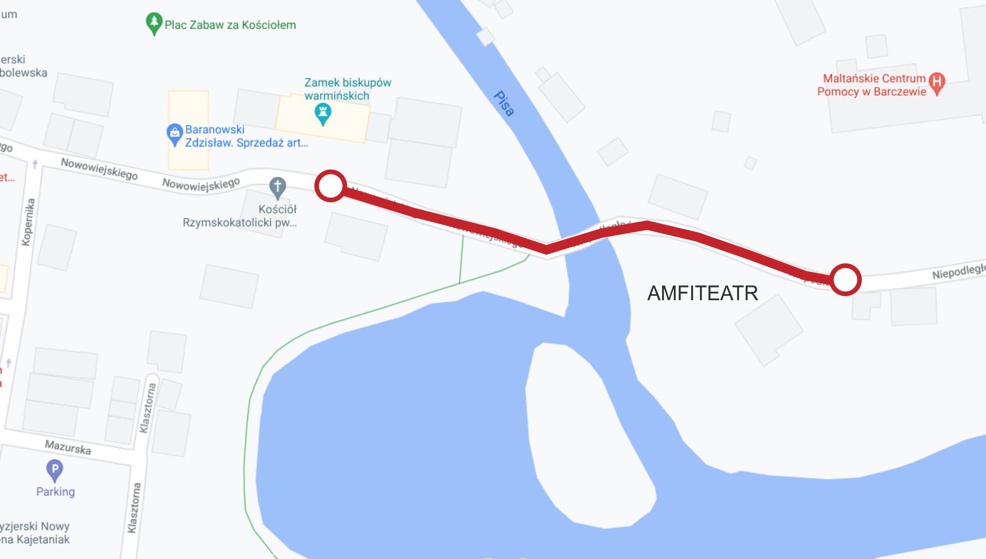 Ulice wyłączone z ruchu pojazdów