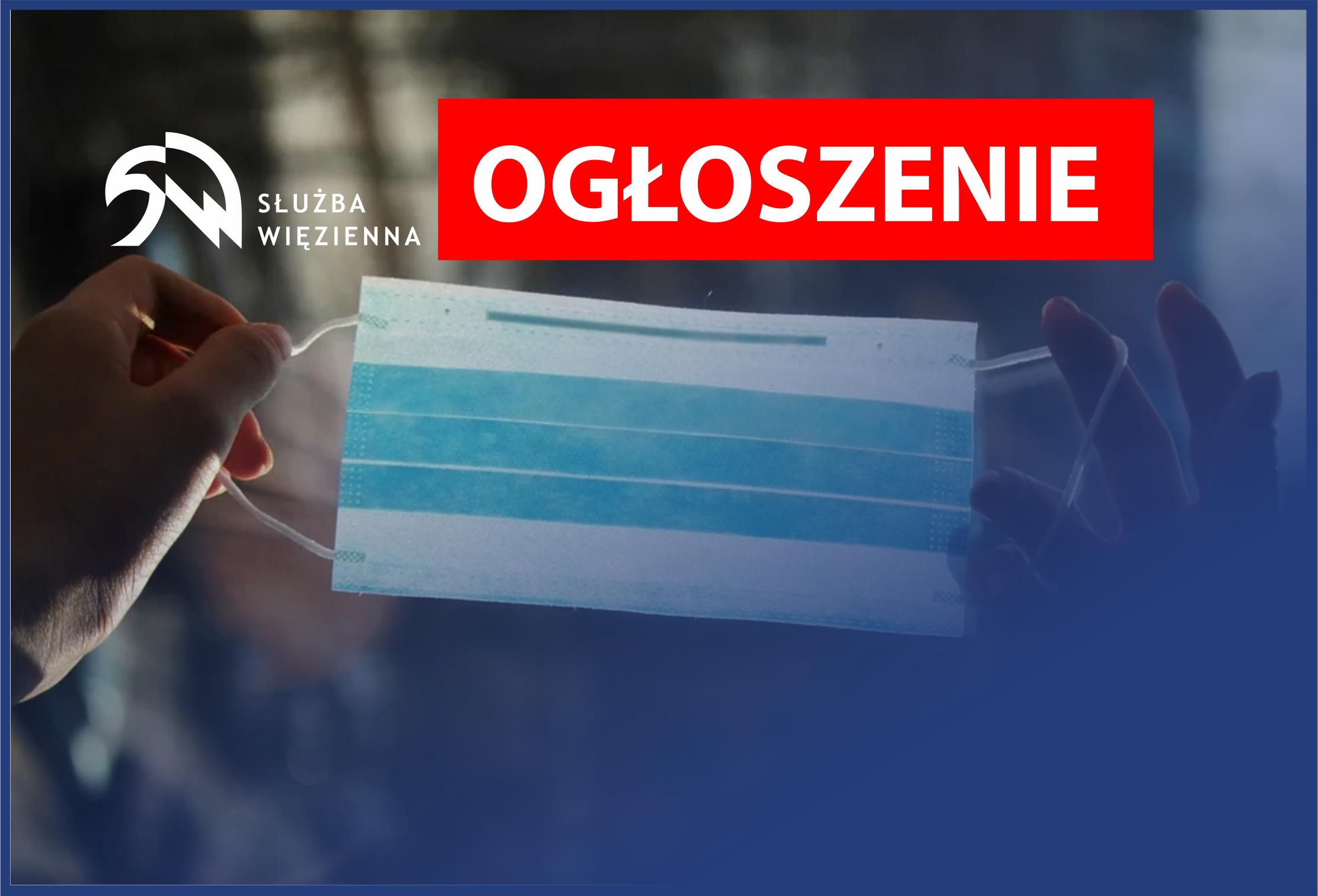Ogłoszenie Dyrektora Zakładu Karnego w Barczewie
