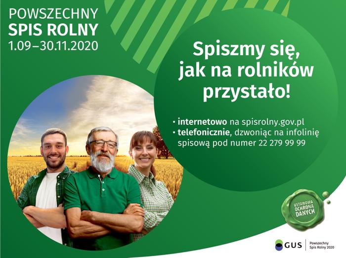 Powszechny Spis Rolny – PSR 2020