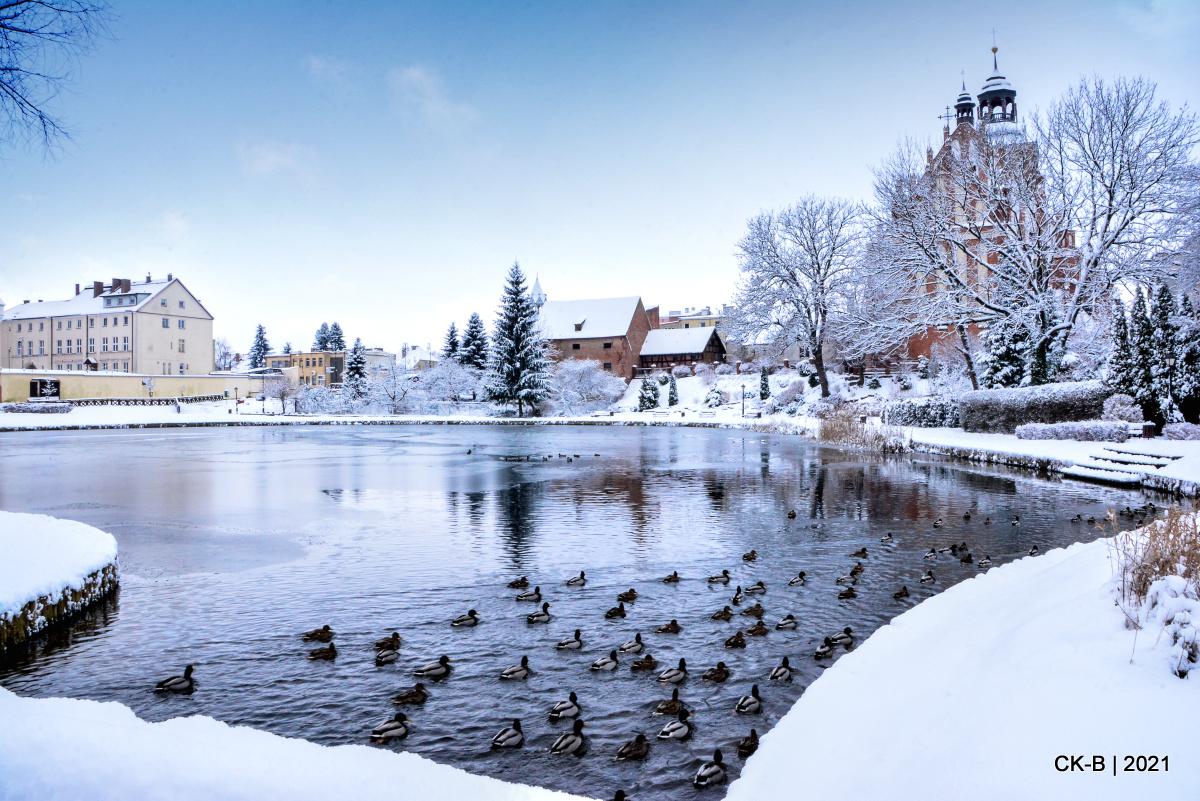 Zima w Barczewie