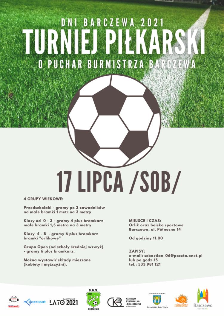 Turniej Piłkarski o Puchar Burmistrza Barczewa