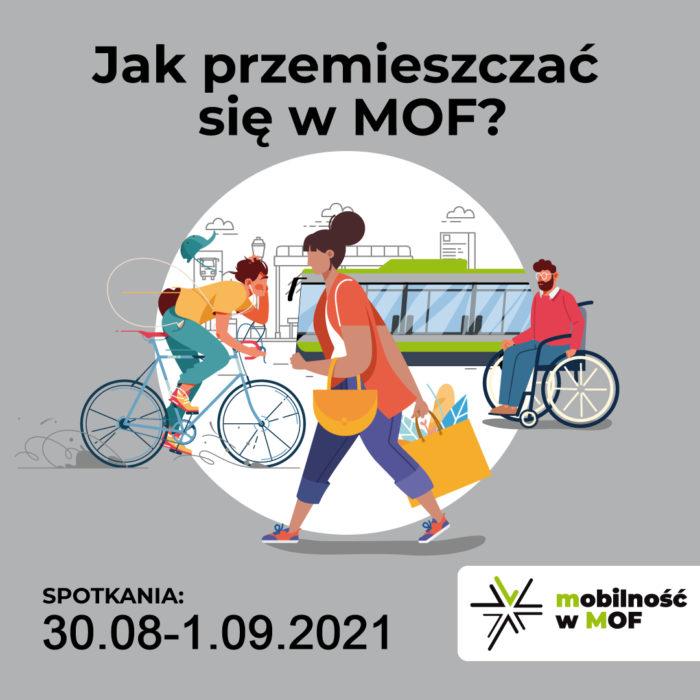 Konsultacje dot. Planu zrównoważonej mobilności miejskiej MOF