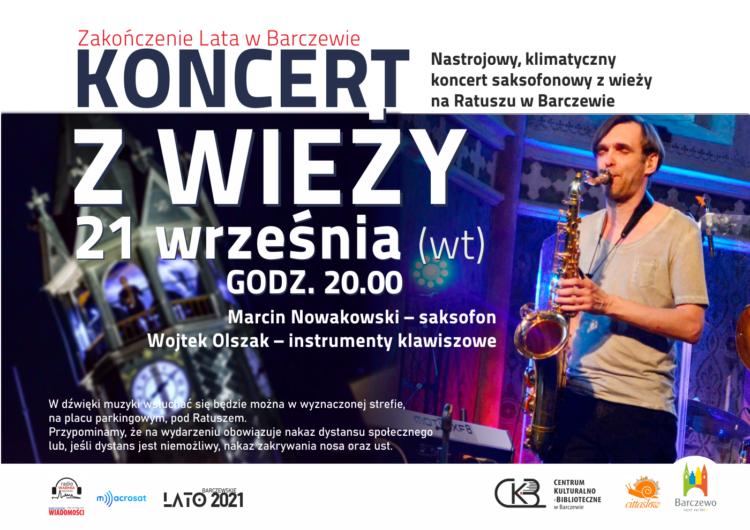 Zakończenie Lata w Barczewie – Koncert z Wieży